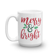 Load image into Gallery viewer, Merry & Bright Christmas Mug