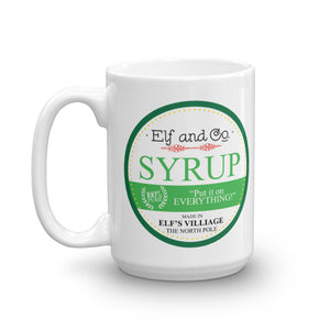 Elf & Co. Syrup Mug