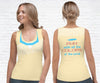 Pocahontas Inspired Running Tank Top