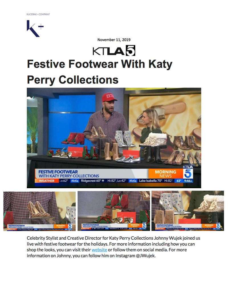 KTLA - Holiday Styles