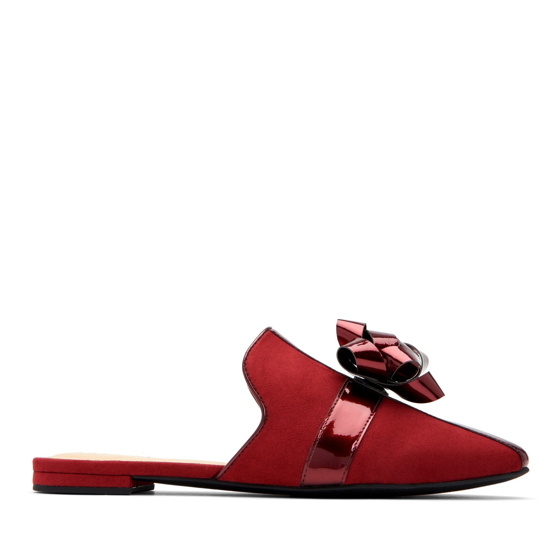 katy perry mule in mulberry size 5   the stephanie