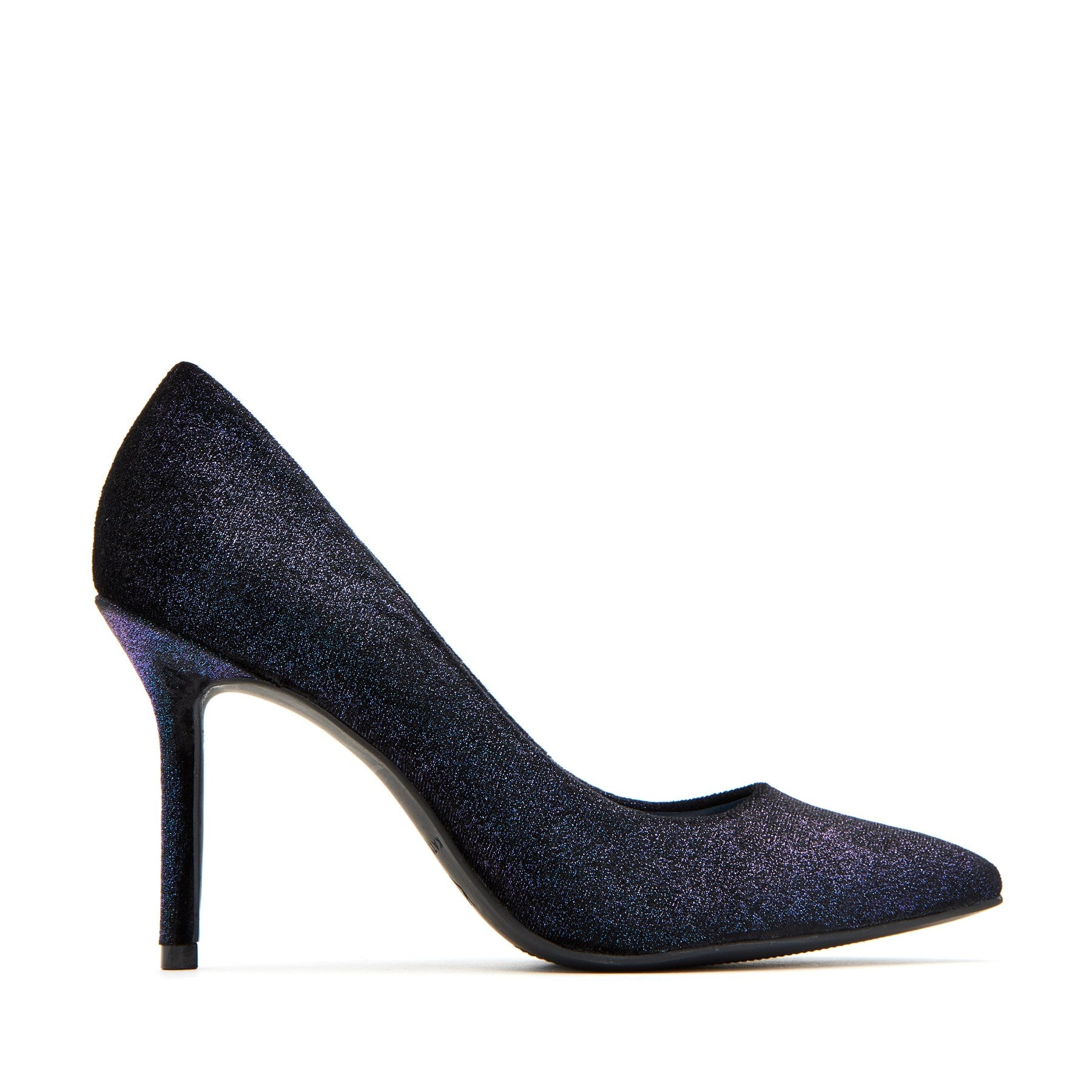 katy perry heeled pump velvet in grape size 7   the sissy