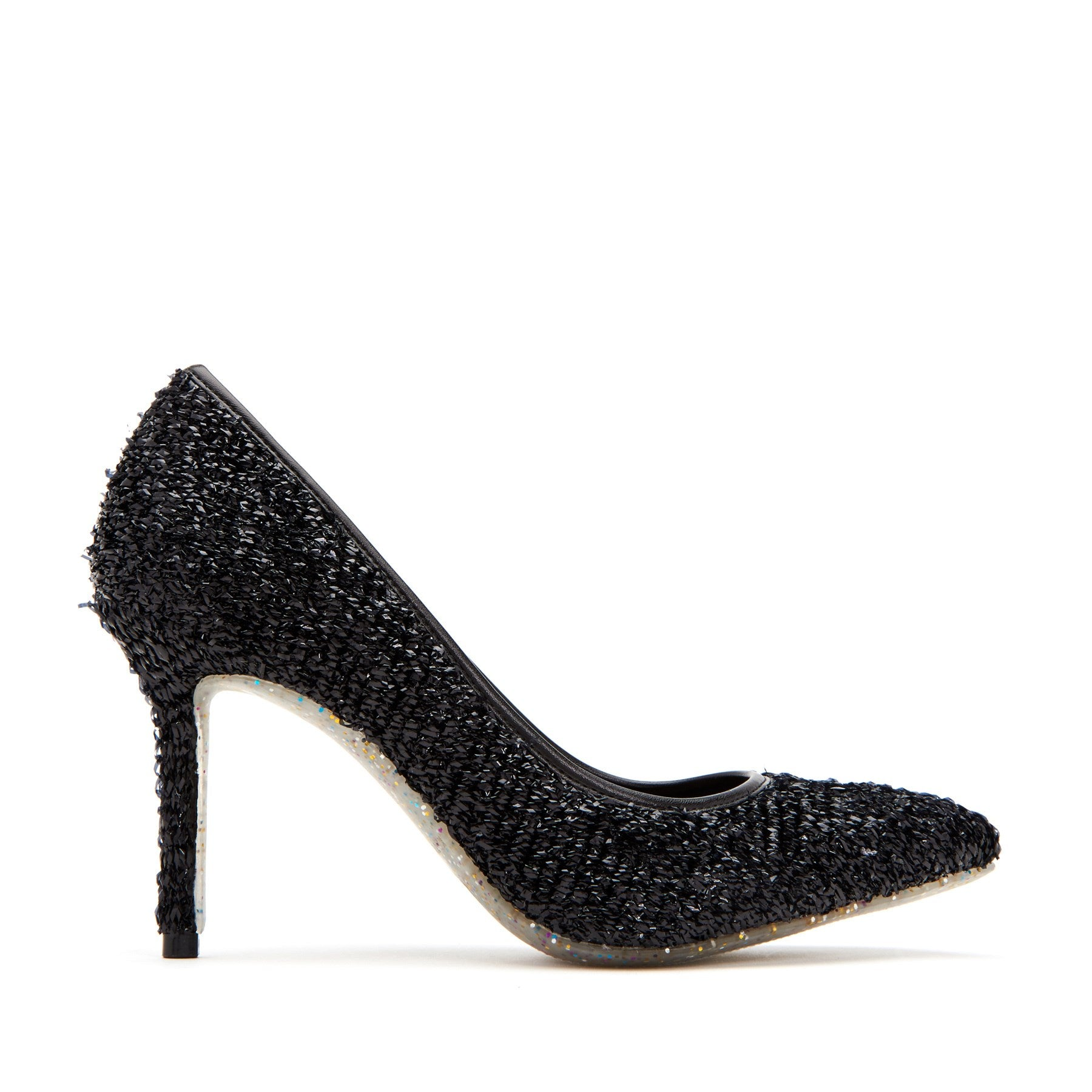 katy perry heeled pump in black size 5   the sissy
