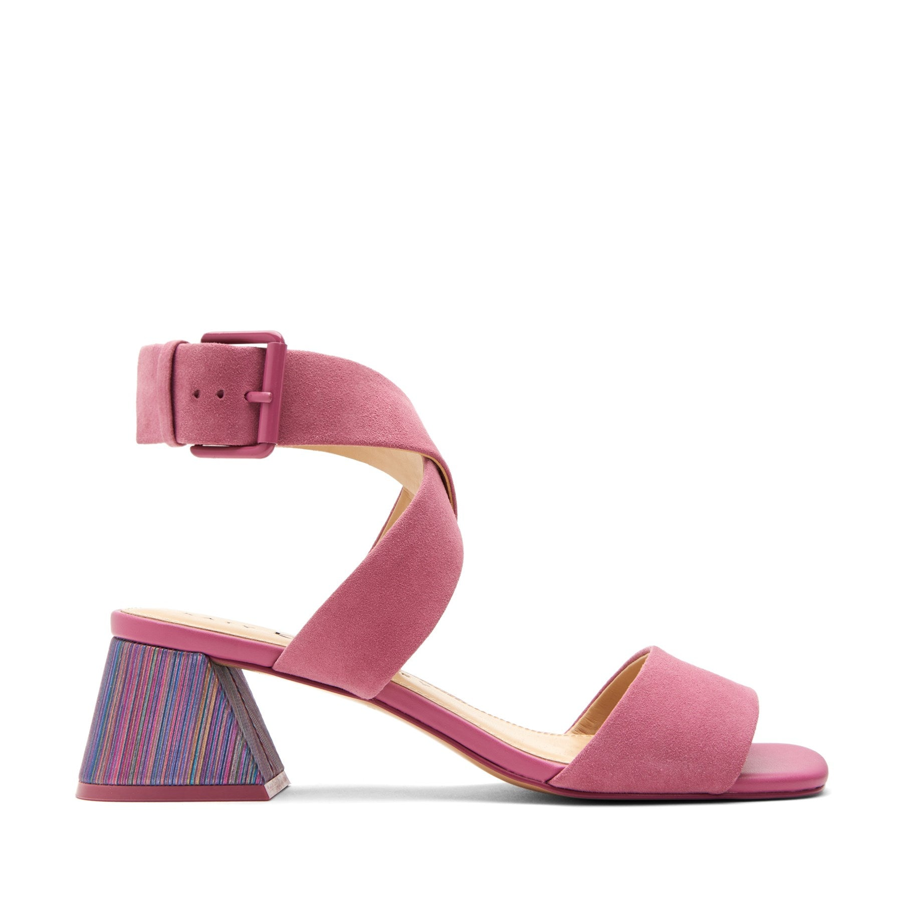 katy perry heeled sandal in dark violet size 5.5   the albee