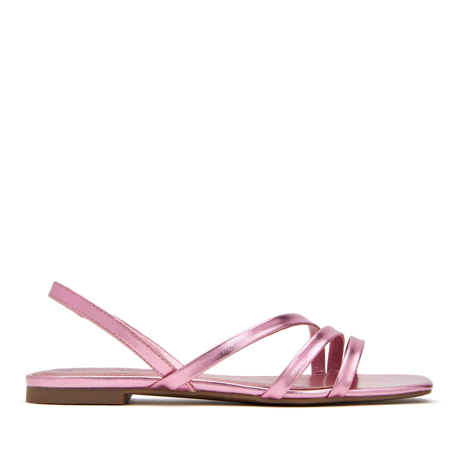 katy perry strappy sandal metallic in champagne size 9   the bondie