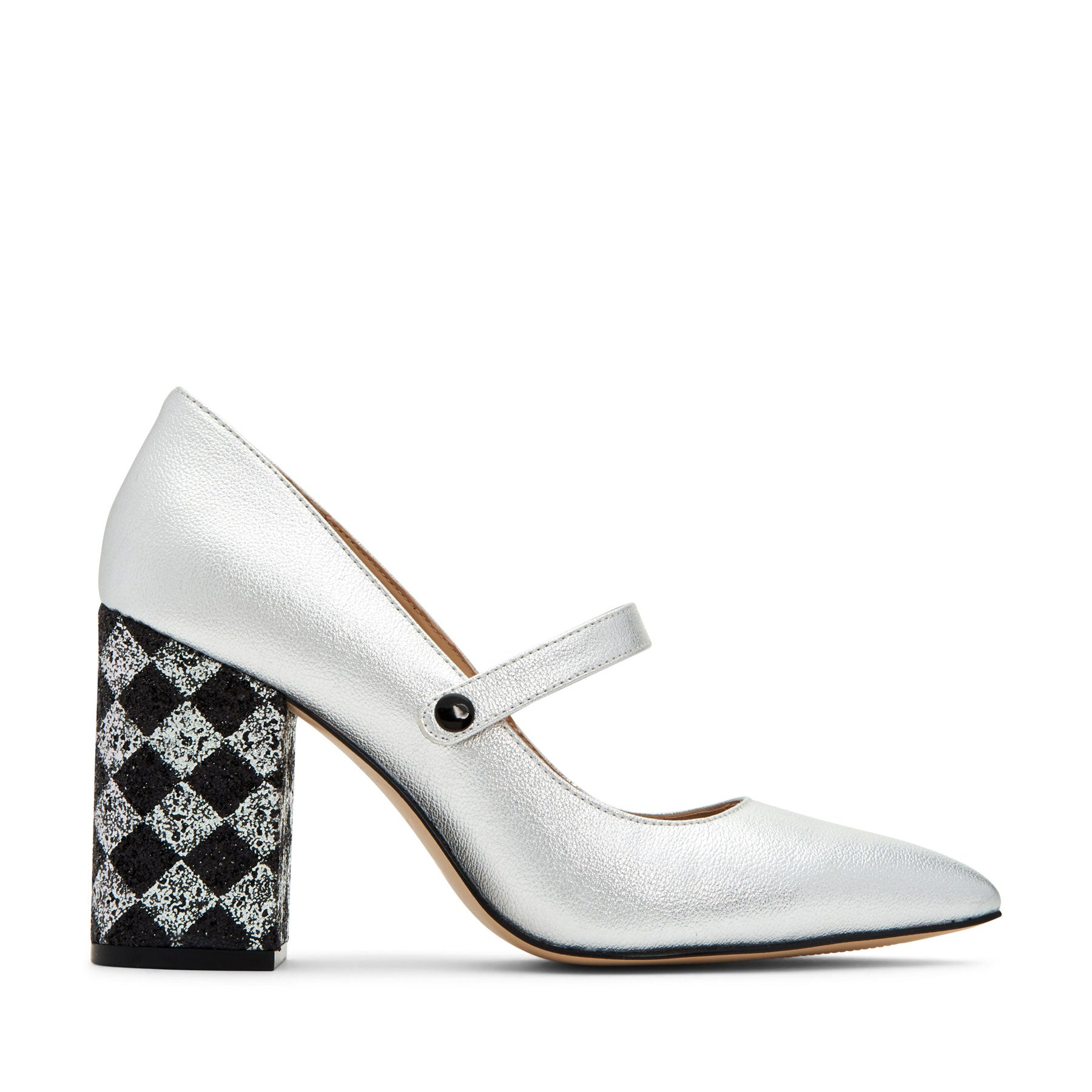 katy perry heeled pumps in silver size 5   the june