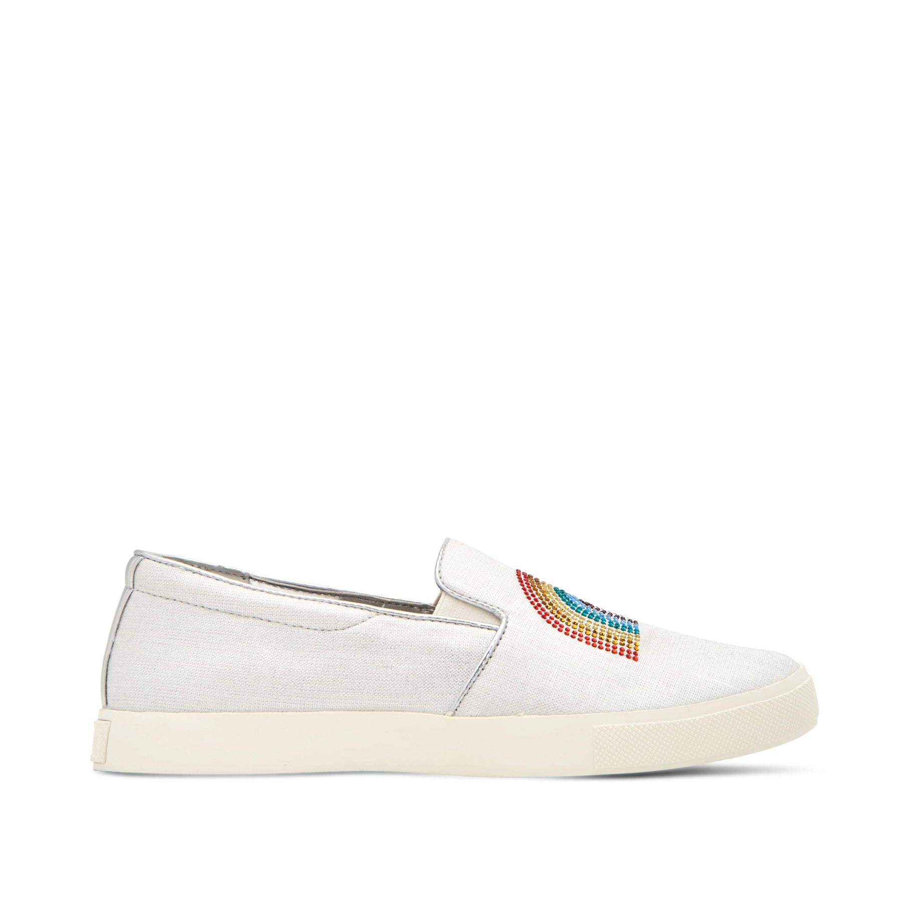 katy perry slip-on sneaker in rainbow size 5 | the kerry