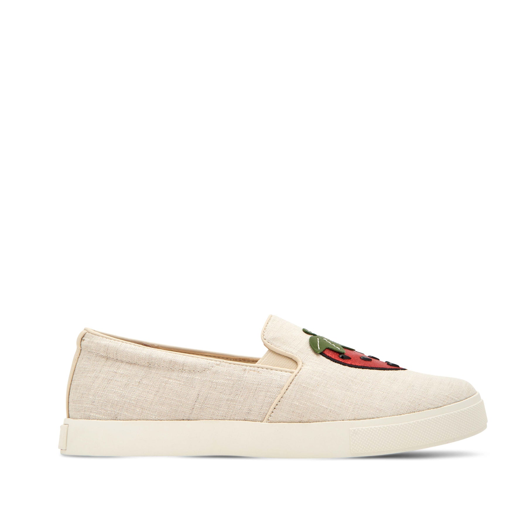 katy perry slip-on sneaker in strawberry size 5.5 | the kerry