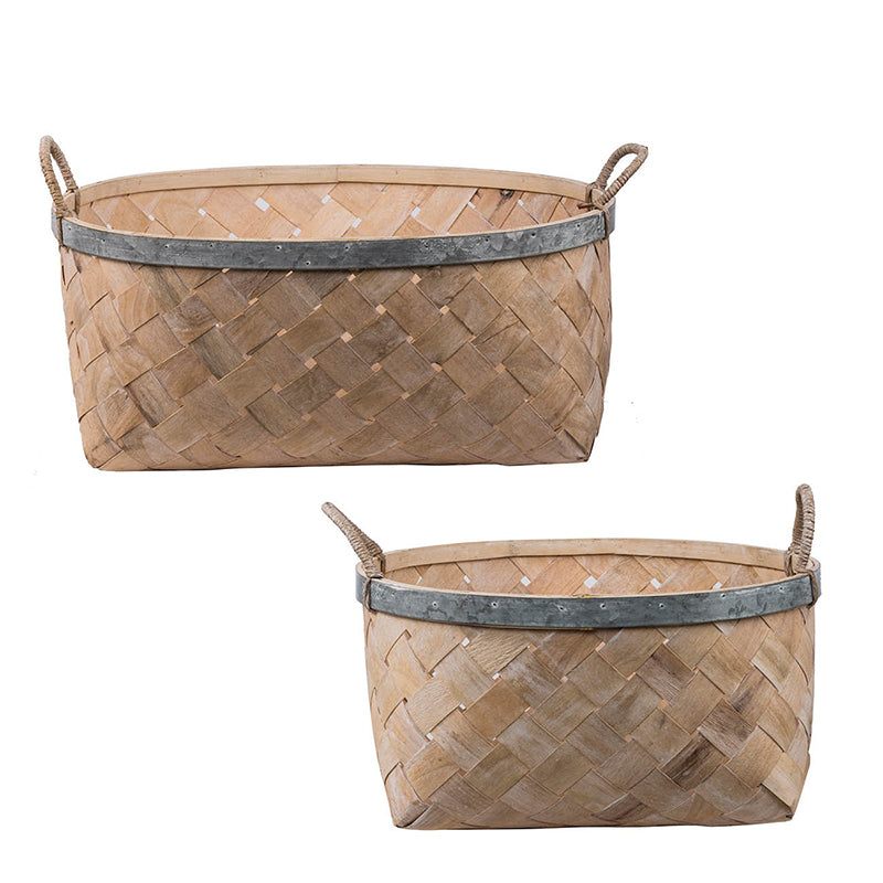 Country Chic Basket- Small