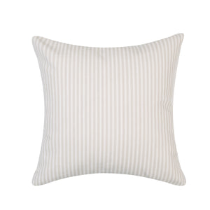Vintage Ticking Throw Pillow III