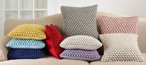 Crochet Pompom Pillow II