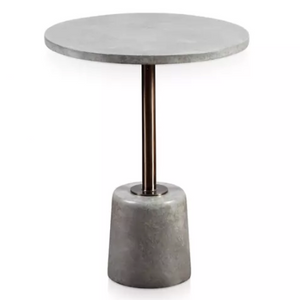 Podium Round Accent Table