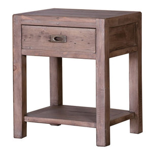 Post and Rail Side Table