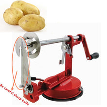 Load image into Gallery viewer, Spiral Potato Slicer Machine for Peel the Whole Potato at Once