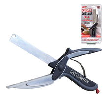 Load image into Gallery viewer, Smart Multi-Function Cutter 2 in 1 Knife & Cutting Board