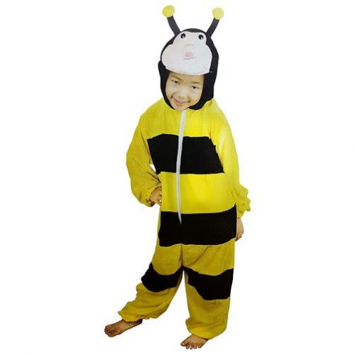 Honey Bee Costume With Jumpsuit And Headset For Kids