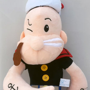 Popeye the Sailor, Height 40 cm Stuffed Toy