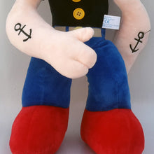 Load image into Gallery viewer, Popeye the Sailor, Height 40 cm Stuffed Toy