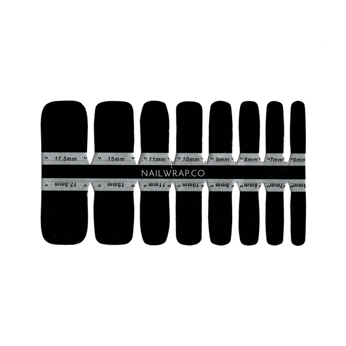 Buy Black Out (Pedicure) Nail Polish Wraps at the lowest price in Singapore from NAILWRAP.CO. Worldwide Shipping. Instant designer nail art manicure in under 10 minutes.