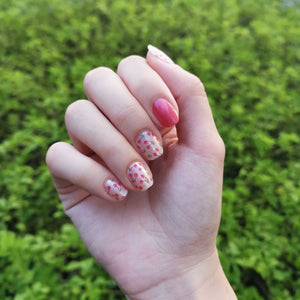 Buy Cherie Pink 🍒 Nail Polish Wraps at the lowest price in Singapore from NAILWRAP.CO. Worldwide Shipping. Instant designer nail art manicure in under 10 minutes.