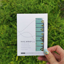 Load image into Gallery viewer, Ciel Gold - NAILWRAP.CO Nail Wrap Co Nail Wraps Singapore Online SG Nail Stickers Nodspark Freshly Wrapped Freshlywrapped Emmezingnails Yaytonails Yay to Nails Nailedit-wraps Nailed it Gelato Factory Korea United States Australia Personail Itspersonail Nails Mailed Polishpops Cheap DIY Manicure Salon Gelish Acrylic Kids Happie Manufacturer Supplier Wholesale Customized Review