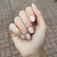 Load image into Gallery viewer, Buy Au Naturel (Solid) Nail Polish Wraps at the lowest price in Singapore from NAILWRAP.CO. Worldwide Shipping. Instant designer nail art manicure in under 10 minutes.