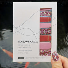 Load image into Gallery viewer, Buy Ellery Bloom Nail Polish Wraps at the lowest price in Singapore from NAILWRAP.CO. Worldwide Shipping. Instant designer nail art manicure in under 10 minutes.