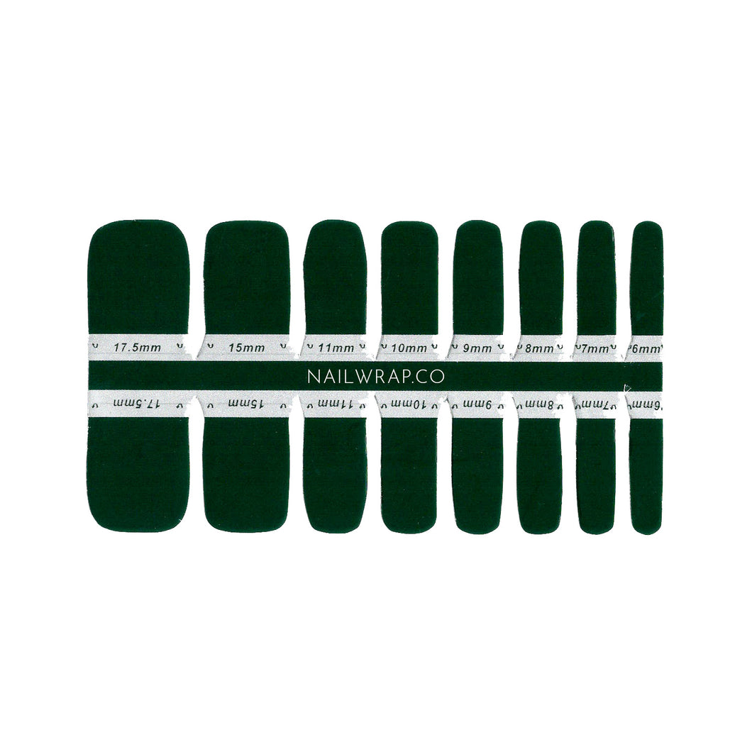 Buy Darkest Forest (Pedicure) Nail Polish Wraps at the lowest price in Singapore from NAILWRAP.CO. Worldwide Shipping. Instant designer nail art manicure in under 10 minutes.