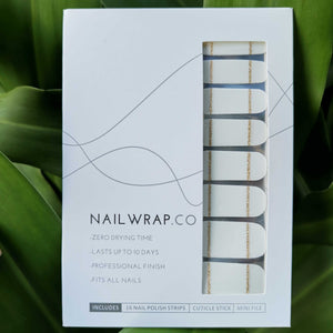 Giselle French Twist - NAILWRAP.CO Nail Wrap Co Nail Wraps Singapore Online SG Nail Stickers Nodspark Freshly Wrapped Freshlywrapped Emmezingnails Yaytonails Yay to Nails Nailedit-wraps Nailed it Gelato Factory Korea United States Australia Personail Itspersonail Nails Mailed Polishpops Cheap DIY Manicure Salon Gelish Acrylic Kids Happie Manufacturer Supplier Wholesale Customized Review