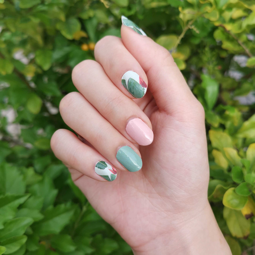 Buy Greta Spring Fling Nail Polish Wraps at the lowest price in Singapore from NAILWRAP.CO. Worldwide Shipping. Instant designer nail art manicure in under 10 minutes.