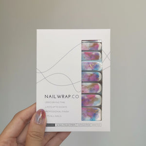 Buy Into the Galaxy Nail Polish Wraps at the lowest price in Singapore from NAILWRAP.CO. Worldwide Shipping. Instant designer nail art manicure in under 10 minutes.