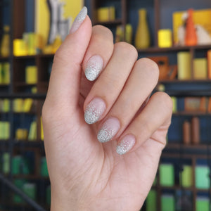 Buy Frost Silver Glitter Nail Polish Wraps at the lowest price in Singapore from NAILWRAP.CO. Worldwide Shipping. Instant designer nail art manicure in under 10 minutes.