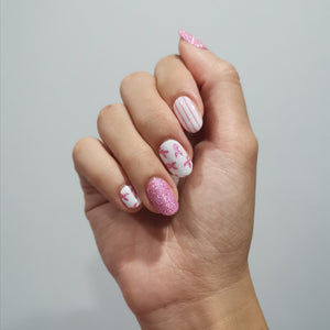 Pink Ribbon - NAILWRAP.CO Nail Wrap Co Nail Wraps Singapore Online SG Nail Stickers Nodspark Freshly Wrapped Freshlywrapped Emmezingnails Yaytonails Yay to Nails Nailedit-wraps Nailed it Gelato Factory Korea United States Australia Personail Itspersonail Nails Mailed Polishpops Cheap DIY Manicure Salon Gelish Acrylic Kids Happie Manufacturer Supplier Wholesale Customized Review