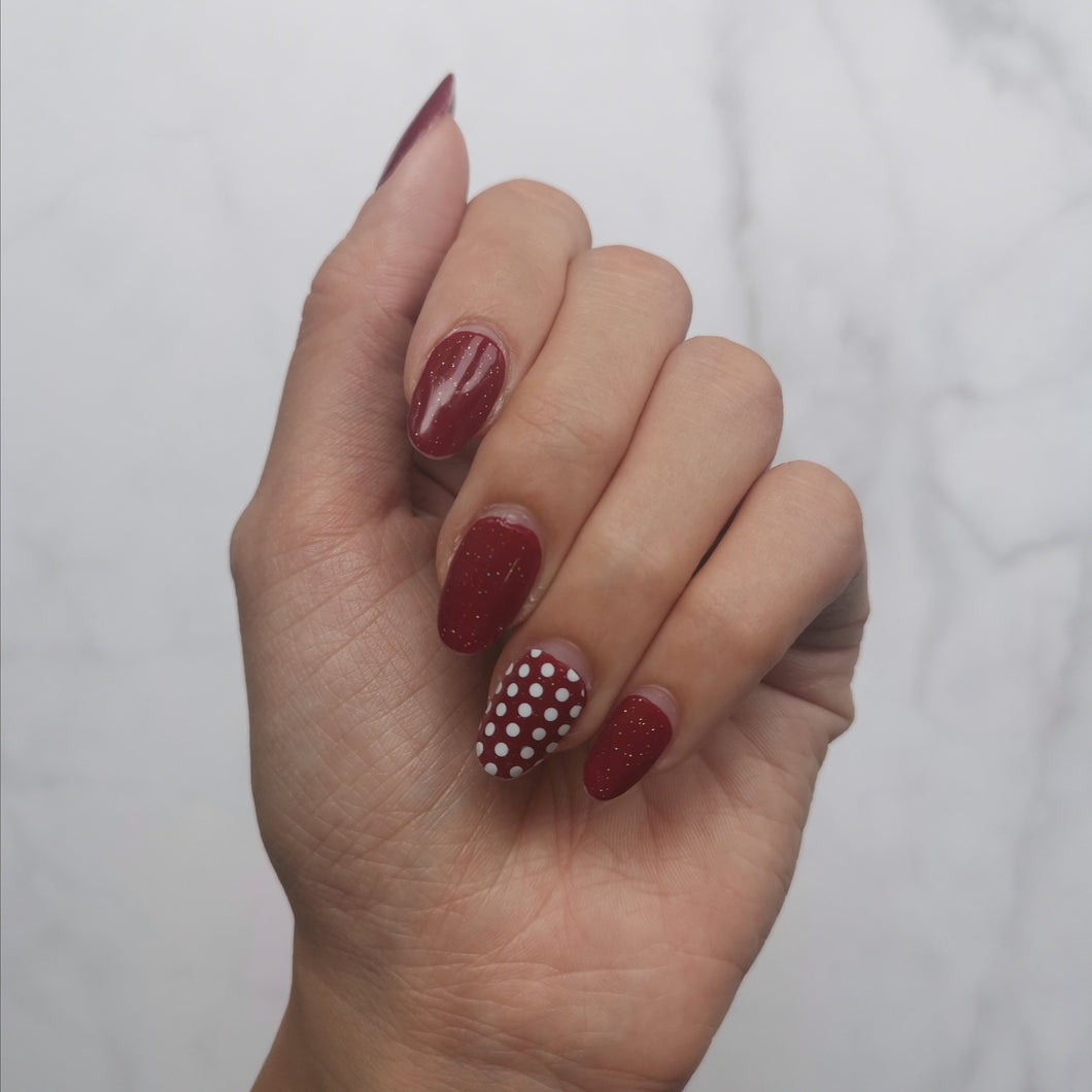 Minnie Polka Dot Overlay
