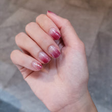 Load image into Gallery viewer, Buy Ombré Blush Nail Polish Wraps at the lowest price in Singapore from NAILWRAP.CO. Worldwide Shipping. Instant designer nail art manicure in under 10 minutes.