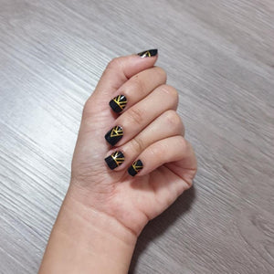 Buy Asta Black Nail Polish Wraps at the lowest price in Singapore from NAILWRAP.CO. Worldwide Shipping. Instant designer nail art manicure in under 10 minutes.