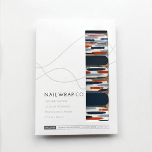 Buy Lenna Brush Strokes Nail Polish Wraps at the lowest price in Singapore from NAILWRAP.CO. Worldwide Shipping. Instant designer nail art manicure in under 10 minutes.