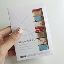Load image into Gallery viewer, Buy Meiko Goldfish Nail Polish Wraps at the lowest price in Singapore from NAILWRAP.CO. Worldwide Shipping. Instant designer nail art manicure in under 10 minutes.