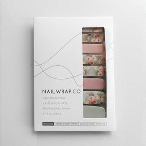 Buy Jezebel Floral Nail Polish Wraps at the lowest price in Singapore from NAILWRAP.CO. Worldwide Shipping. Instant designer nail art manicure in under 10 minutes.