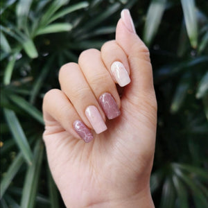 Buy Cassia Marble Pink Nail Wraps at the lowest price in Singapore from NAILWRAP.CO. We Ship Worldwide. Over 300 designs! Instant designer nail art under 10 minutes