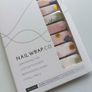 Buy Leafy Meadow Nail Polish Wraps at the lowest price in Singapore from NAILWRAP.CO. Worldwide Shipping. Instant designer nail art manicure in under 10 minutes.