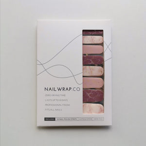 Buy Cassia Marble Pink Nail Polish Wraps at the lowest price in Singapore from NAILWRAP.CO. Worldwide Shipping. Instant designer nail art manicure in under 10 minutes.