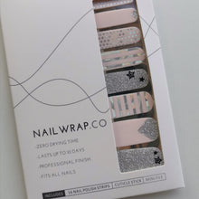 Load image into Gallery viewer, Buy Shine Bright Nail Polish Wraps at the lowest price in Singapore from NAILWRAP.CO. Worldwide Shipping. Instant designer nail art manicure in under 10 minutes.