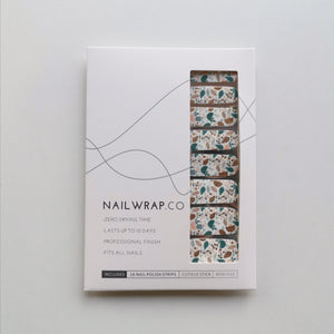 Buy Fresh Foliage Nail Wraps at the lowest price in Singapore from NAILWRAP.CO. We Ship Worldwide. Over 300 designs! Instant designer nail art under 10 minutes