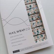 Load image into Gallery viewer, Buy Fresh Foliage Nail Polish Wraps at the lowest price in Singapore from NAILWRAP.CO. Worldwide Shipping. Instant designer nail art manicure in under 10 minutes.