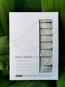 Buy Classic Bijou Silver (Glitter) Nail Polish Wraps at the lowest price in Singapore from NAILWRAP.CO. Worldwide Shipping. Instant designer nail art manicure in under 10 minutes.