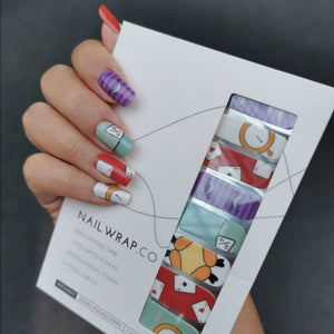 Buy Wonderland Nail Polish Wraps at the lowest price in Singapore from NAILWRAP.CO. Worldwide Shipping. Instant designer nail art manicure in under 10 minutes.