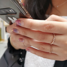 Load image into Gallery viewer, Into the Galaxy - NAILWRAP.CO Nail Wrap Co Nail Wraps Singapore Online SG Nail Stickers Nodspark Freshly Wrapped Freshlywrapped Emmezingnails Yaytonails Yay to Nails Nailedit-wraps Nailed it Gelato Factory Korea United States Australia Personail Itspersonail Nails Mailed Polishpops Cheap DIY Manicure Salon Gelish Acrylic Kids Happie Manufacturer Supplier Wholesale Customized Review