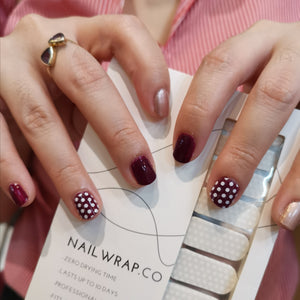 Buy Minnie Polka Dot Overlay Nail Polish Wraps at the lowest price in Singapore from NAILWRAP.CO. Worldwide Shipping. Instant designer nail art manicure in under 10 minutes.