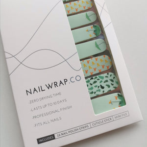 Birds & Brolly - NAILWRAP.CO Nail Wraps Singapore Online SG Nail Stickers Nodspark Freshly Wrapped Freshlywrapped Emmezingnails Yaytonails Yay to Nails Nailedit-wraps Nailed it Gelato Factory Korea United States Australia Personail Itspersonail Nails Mailed Polishpops Cheap DIY Manicure Salon Gelish Acrylic
